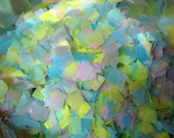 Pastel Confetti 10 cups , Biodegradable , weddings , parties , showers , crafts , kids, adults, table decor