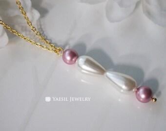 sp Hybrid Orbital Necklace, Chemist's Necklace, Personalized Chemistry Jewelry, Fun Science Jewelry, OOAK Jewelry, Molecule Charm
