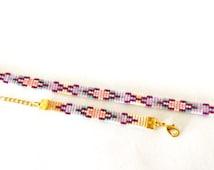 Mother Daughter Bracelet - Sparkle ibiza bracelet - friendship bracelet, beadloom bracelet, beaded bracelet