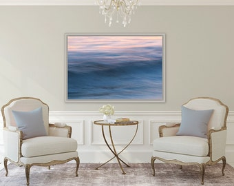 Vineyard Waves ~ Lambert's Cove, Vineyard Haven, Martha's Vineyard, Beach, Photography, Sunset, Waves, Coastal, Decor, Wall Art, Joules