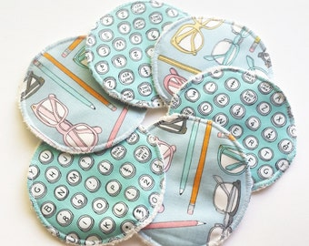 Reusable Organic Nursing Pad / Bamboo Nursing Pad / Breastfeeding Pad