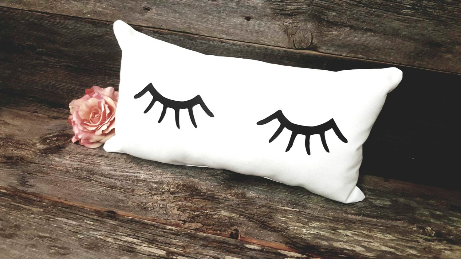 Cute Eyelash Pillow : Eyelashes Pillow Eyelashes Eyelash Decor Eyelashes
