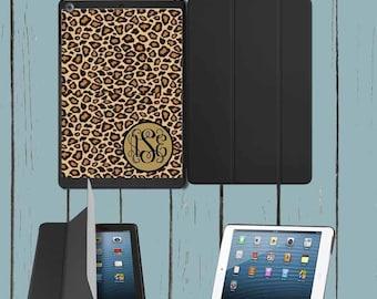 iPad Mini iPad Case iPad Air Case Cheetah Print Monogram iPad Case Monogram Personalized