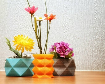 3d printed desk or table planter