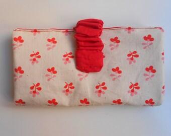 Fabric wallet/Handmade/Cotton fabric wallet