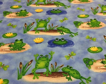 Froggin' Around from Blank Quilting By the yard
