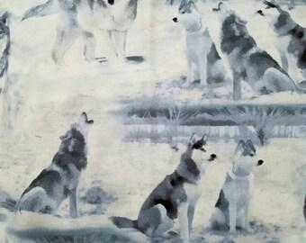 Wolves bandana / Over collar bandana