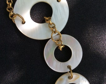 Mother of Pearl Necklace White