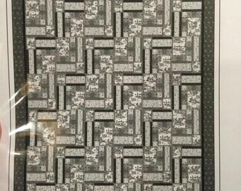 Quilted Button BELLA SERRA quilt pattern