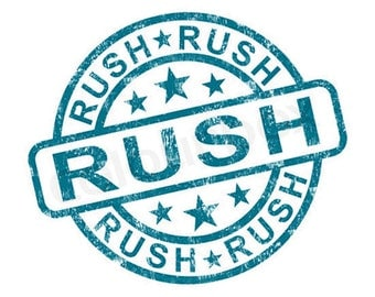 Rush My Order; Upgrade Shipping; Add to Existing Order