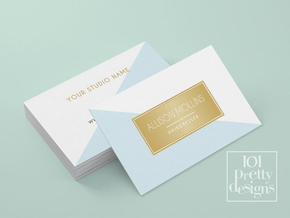 Minimalistic business card template gold printable business card il570xn fbccfo Gallery