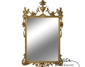 Friedman Brothers Large Gilt Frame Adams Style Wall Mirror