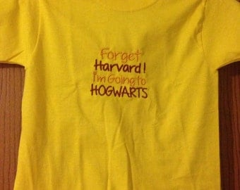 Forget Harvard t-shirt
