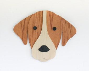 Dog Wall Art. Dog Lover Gift. Nursery Decor. Kids Room Decor Art. Wooden Dog Art. Animal art. Nursery Decor. Wooden Sign. Baby Gift