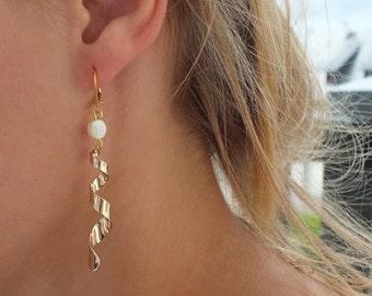 "Earrings ""Champei"" // Tan Tao Jewels"
