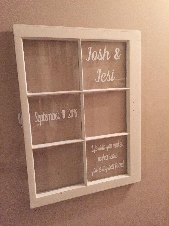 On Sale Distressed Wedding Wood Window Wedding Decor