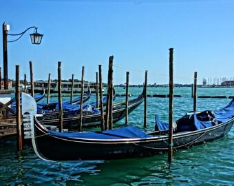 Venice Photography Print - Italy - Travel photography - Venice - Gondola - Venice wall art - Italy photography