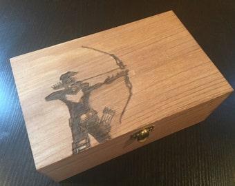 Hawkeye Custom Wood Box