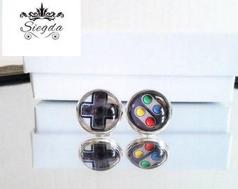 Nintendo Game Controller Earrings