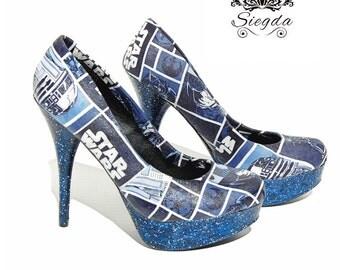 Galaxy Far Far Away Star Wars Pumps-Choose your style