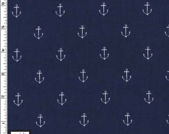 Michael Miller fabric,  Anchor fabric, NauticalFabric,  Fabric by the Yard, quilting fabric, fat quarters, More available  BTY
