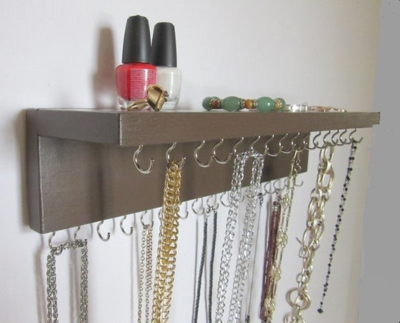 Jewelry Wall Mount Hanger For Necklace Storage Jewelry Rack