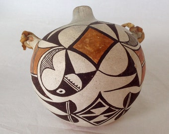 Native American Pottery Canteen
