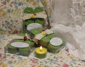 "The ""Cucumber"" soy wax candles"