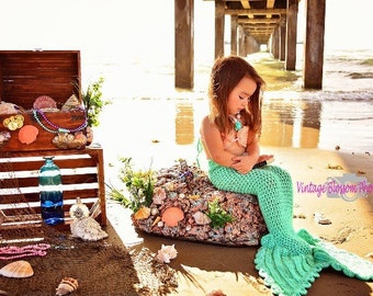 Crochet Mermaid Tail for Babies and Toddlers, Crochet mermaid tail