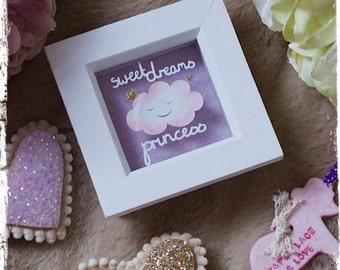 Sweet Dreams Princess - Miniature Paper Cut