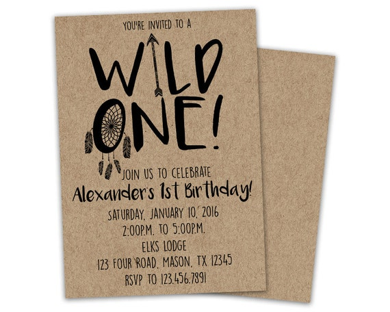 Where The Wild Things Are Birthday Invitations is Luxury Sample To Make Beautiful Invitation Design