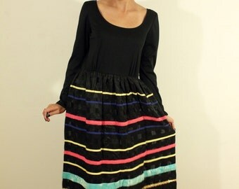 1960s Jack Bryan Designed by Dupuis 1960s Hollywood Glamour Vintage Dress