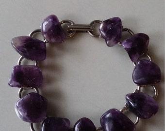 Vintage amethist bracelet