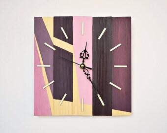 Designer Wall Clock designer wall clock   etsy