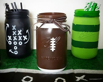 Football Party Decorations - Superbowl Party Decor - Football Coach Gift - Football Party Favors - Christmas Gifts for Dad - Football Decor
