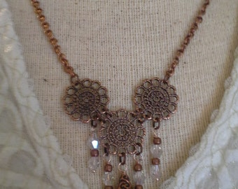 Antique Copper Necklace N 168