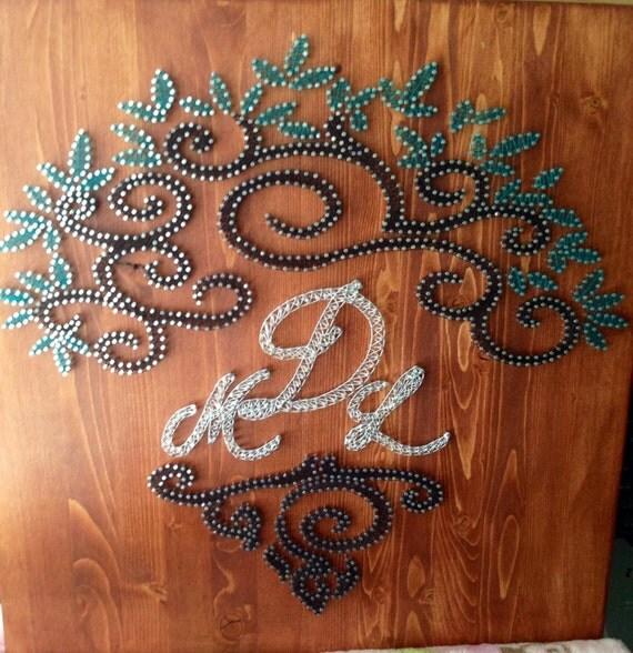 Wedding Gift String Art : Tree of Life Wedding/Anniversary Gift String art