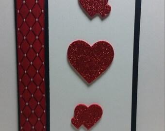 Red Glitter Love