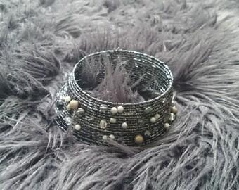 Bead choker/necklace