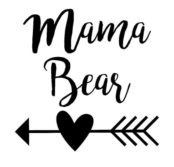 mama bear decal free custom color mama bear by