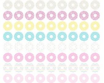 Reinforcement stickers pastel