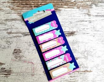 """Sticky bookmarks set """"marine"""""""