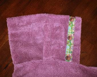 Doc McStuffins Hooded Towel, Purple - For babies, toddlers, preschoolers and beyond!