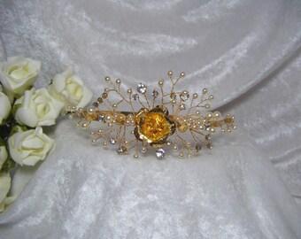 Wedding Bridal Headband Side Tiara