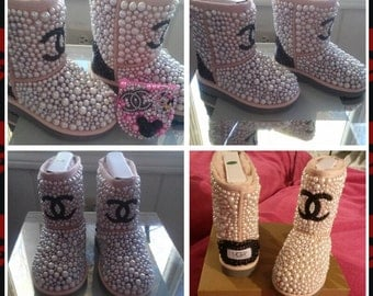 Kids Ugg Custom with Total Coverage