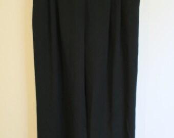 Witchery wide leg black pants