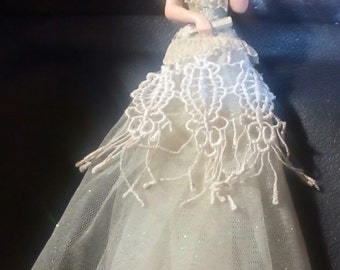 Vintage Tassel Doll Victorian style..Gorgeous