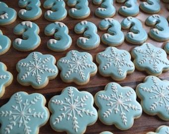 Frozen Themed Sugar Cookies (12)