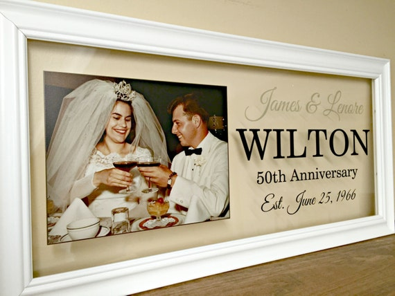 50th Wedding Anniversary Gift Ideas For Wife: 50th Anniversary Gifts For Parents 50th Anniversary Gifts