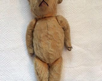 Vintage mohair Merrythought teddy bear